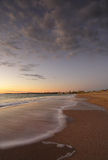 Красивое утро на пляже Сиднее Ванды Стоковое Фото