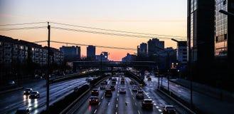 Красивое утро Пекина Стоковые Изображения RF