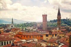 Красивое Флоренс стоковые изображения