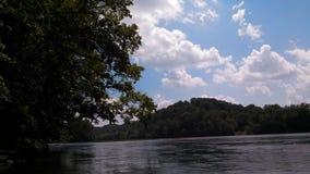 Красивое южное небо Западной Вирджинии Стоковое фото RF