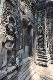 Красивое Apsaras в замке Prohm животиков Стоковые Изображения RF