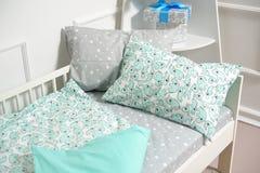 Красивое children& x27; кровать s, другие цвета Стоковое Фото