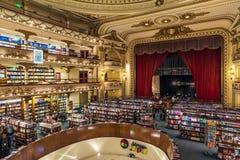 Красивое ` El Ateneo ` bookstore в городе Буэноса-Айрес, Аргентины Стоковые Фотографии RF