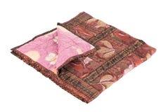 Красивое handmade лоскутное одеяло Стоковые Фото