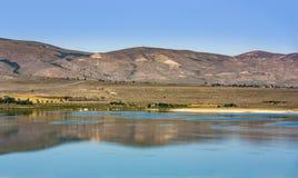 Красивое Mono озеро стоковая фотография rf