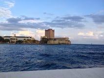 Красивое Punda в Виллемстад, Curacao Стоковые Изображения RF