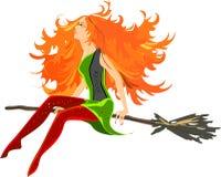 Красивое redheaded Стоковое Фото