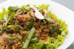 Красивое salod морепродуктов Стоковое Фото