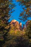 Красивое Sedona Аризона на солнечный день осени Стоковое Фото