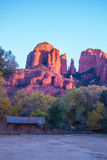 Красивое Sedona Аризона на солнечный день осени Стоковая Фотография