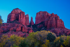 Красивое Sedona Аризона на солнечный день осени Стоковое Изображение