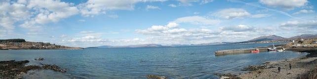 Красивое Skye на Broadford стоковые изображения rf