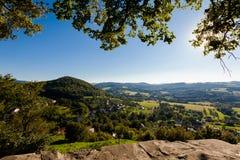 Красивое Stramberk в чехии Стоковое Изображение
