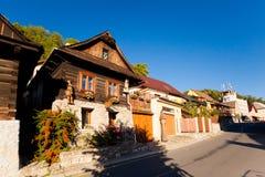 Красивое Stramberk в чехии Стоковые Фото