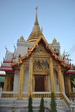 Красивое stupa в виске Wat Samien Nari в Бангкоке Таиланде Стоковая Фотография RF