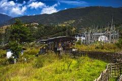Красивое Trashiyangtse, восточный Бутан стоковые изображения rf