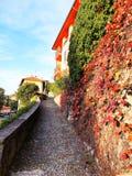 Красивое varenna Италия Como озера стоковое изображение