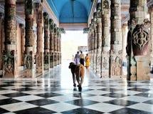 Красивое Vrindavan стоковая фотография rf