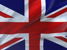 Красиво флаг Великобритании Стоковые Фото