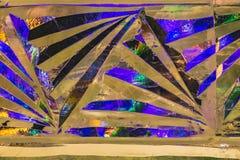 Красивую пестротканую текстуру льда можно использовать на украшения праздники Нового Года и рождества в зимнем отдыхе стоковая фотография