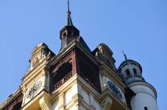 Красивые башни замка Стоковая Фотография