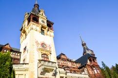 Красивые башни castel Стоковое фото RF