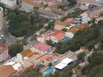 Красивые богатые свойства для состоятельного в Gibralta Стоковое Фото