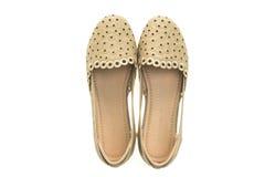 Красивые ботинки и сандалия женщины моды Стоковое фото RF