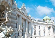 Красивые венские архитектуры Стоковая Фотография RF