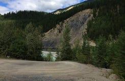 Красивые виды канадских скалистых гор - Yoho стоковая фотография