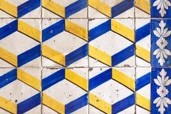 Красивые винтажные плитки Стоковая Фотография