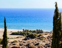 Красивые виды береговой линии Стоковое фото RF