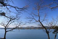 Красивые виды озера qiandao Стоковое фото RF