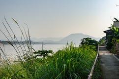 Красивые виды Chiang Khan в Loei Стоковое Изображение RF
