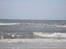 Красивые волны в море Стоковое фото RF