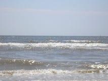 Красивые волны в море Стоковое Изображение RF