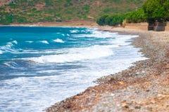 Красивые волны моря Стоковые Фото
