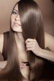 Красивые волосы Стоковое фото RF