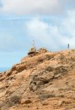 Красивые вулканические горы на Фуэртевентуре Стоковое Изображение
