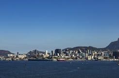 Красивые города Интересные ландшафты туриста Чудесные города Интересы мира Рио Де Жанеиро Бразилия стоковое фото
