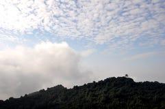 Красивые горы и реки Стоковое фото RF