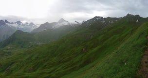 Красивые горы, Kitzsteinhorn стоковое фото rf