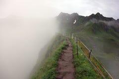 Красивые горы, Kitzsteinhorn стоковое изображение