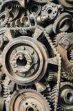 Красивые декоративные элементы металла Конец-вверх стоковые изображения rf