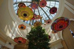 Красивые декоративные зонтики стоковое изображение