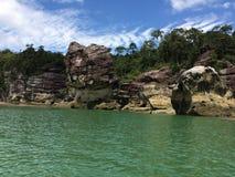 Красивые естественные пещеры Стоковая Фотография RF