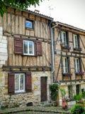 Красивые загородные дома в bergearc Стоковое Изображение