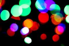 Красивые запачканные света Стоковые Изображения