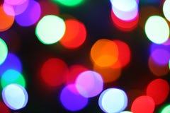 Красивые запачканные света Стоковые Фотографии RF
