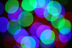 Красивые запачканные света Стоковое Изображение